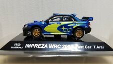 1/64 CM's SUBARU IMPREZA WRC STI Rally 2006 Test Car T.Arai diecast car model