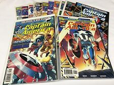CAPTAIN AMERICA #1-11 (MARVEL/1998/0915154) COMIC BOOK SET LOT OF 12