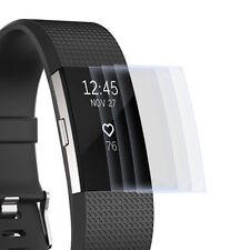 3x Display Schutz Folie für Fitbit Charge 2 - Displayfolie Schutz Hülle Cover