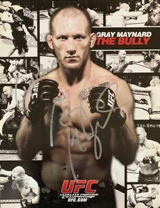 "MMA UFC Gray Maynard ""The Bully"" Autographed 8x10 Photo"