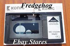 VHS-C Adaptador para permitirle jugar su videocámara cintas a través de su video