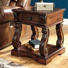 Signature Design By Ashley Alymere Square End Table, Brown