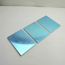 "New listing .5"" thick 1/2 Precision Cast Aluminum Plate 6""x 8.125"" Long Qty 3 sku175734"