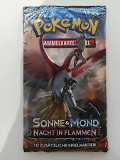 Pokemon Sonne & Mond Nacht in Flammen Booster Deutsch