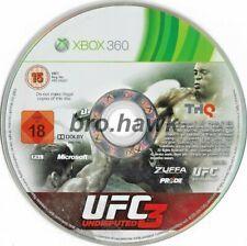 UFC unbestritten 3 (Xbox 360) - PAL-DISCS nur