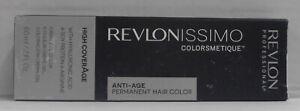REVLON Revlonissimo ANTI-AGE COLORSMETIQUE Permanent Creme Gel Color ~ 2 oz