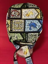 Men/Women Adult Surgical Cap Harry Potter Stained Glass Houses . Awesome Cap
