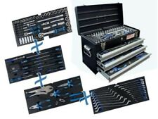 BGS 3-Schubladen Metall-Werkzeugkoffer mit 143 Werkzeugen (3318)