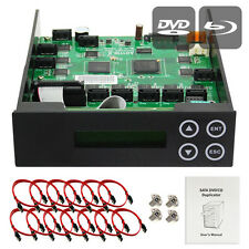 1-9-10-11  CD/ DVD/ BD Blu-ray SATA Burner Duplicator Copier CONTROLLER