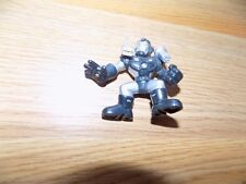 Marvel Super Hero Squad War Machine Iron Man Mini PVC Figure Black Silver 2008