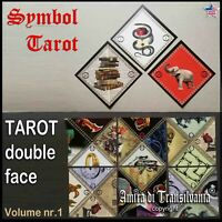 tarot card double face cards deck russian gypsy fortune telling vintage oracle