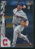 2020 Topps Chrome Ben Baller Edition #143 Aaron Civale RC Cleveland Indians