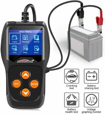 KW600 12V Automotive Car Battery Charging Analyzer Cranking Alternator Tester