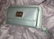 Kenneth Cole Reaction Silver Grey Wallet/Clutch
