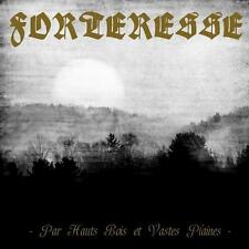 Forteresse - Par Hauts Bois et Vastes Plaines CD 2010 black metal Canada