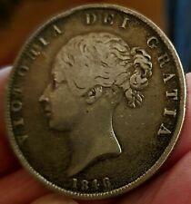 More details for excellent (1846) victoria halfcrown.