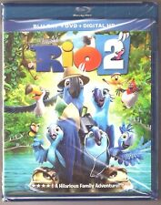 Rio 2 - Blu-ray + DVD + Digital HD Family Kid Film Movie BRAND NEW