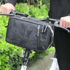 Waterproof Panniers Bag Bike Bicycle Rear Seat Front Beam Saddle Package Case