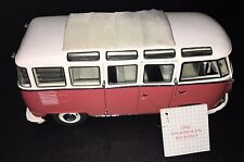 Franklin Mint 1962 Volkswagen Microbus VW 1:24 Scale Diecast Model Van Camper