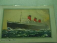 Queen Mary Post Card