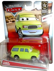CHARLIE CARGO - Sarge's Boot Camp, Deluxe, die-cast vehicle Disney Mattel Cars