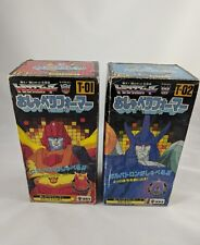 Transformers Talkformers T-01 Rodimus Convoy and T-02 Galvatron Boxed