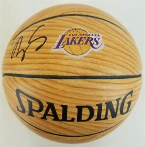 Kyle Kuzma Signed Los Angeles Lakers Logo Basketball (Beckett Witness COA)