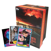 WEEK 1 ~ Stranger Things Topps Exclusive VALUE BOX with 5 Limited Edition cards
