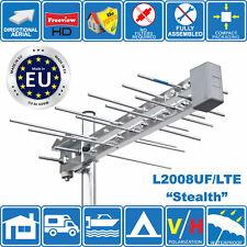 """Stealth"" Mini Small Log Periodic Wideband Digital HD TV Aerial Freeview HD Loft"