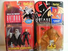 BATMAN the ANIMATED SERIES 1992/3 figures: MANBAT/ PHANTASM ( FREE SHIP/GIFT )