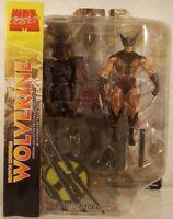 Marvel Select - Wolverine Brown Costume X-Men Logan Diamond (MISP)