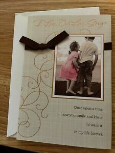 American Greetings Card -Happy Anniversary- I Love our Love story