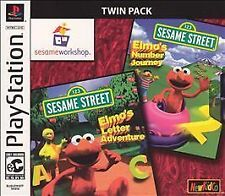 Sesame Street Twin Pack: Elmo's Numbers & Letters (Sony PlayStation 1, 2003)