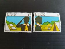 IRELAND 1977 SG 409-410 SCOUTING AND GUIDING MNH