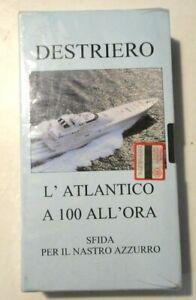 RARO VHS - DESTRIERO - L'ATLANTICO A 100 ALL'ORA SFIDA PER IL NASTRO AZZURRO -