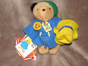 "EDEN 9"" STUFFED PLUSH PADDINGTON TEDDY BEAR BARKRIDGES SHOPPING BAG"
