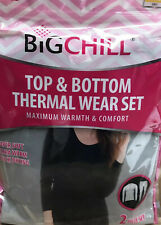 Women Thermal Underwear Warm Long Johns Outdoor Big Chill Grey Size L NEW