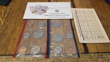 1988 US Mint Set Flatpack 2 Kennedy Half Dollars COA Gift Free Shipping 67788990