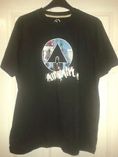 Mens T-Shirt Top - Airwalk - New York Statue Of Liberty USA - Black - Size L