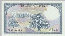1988 100 Livres Banknote Lebanon UNC - Pick 66D