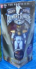 Saban Mighty Morphin Power Rangers Movie White Ranger Figure MIP Bandai 2016