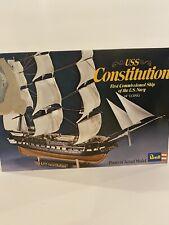 New ListingRevell Uss Constitution Intermediate Model 1972 Never Built Complete Set Rare