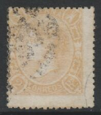 Spain - 1865, 2r Dull Orange stamp - Used - SG 91b