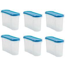 6x Aufbewahrungsdose Streudose 1,3 Liter Lebensmittel Vorratsbehälter Schüttdose