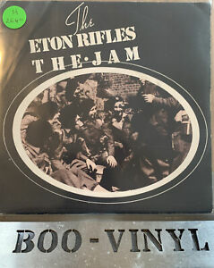 "The Jam / The Eton Rifles 7"" Vinyl  Single POSP 83 Picture Sleeve 1979 EX / VG+"