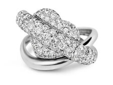 2.00 Carat Round Cut Diamond Women's Right Hand Ring/Cocktail Ring 14 White Gold