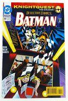 DC DETECTIVE COMICS (1993) #669 SIGNED by Chuck DIXON w/COA VF Batman