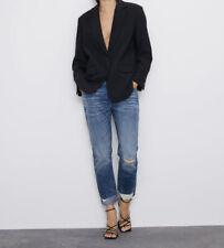 Zara Z1975 Cuffed Jeans