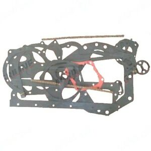 BOTTOM GASKET SET FOR MASSEY FERGUSON 65 TRACTORS. (PERKINS A4.192)