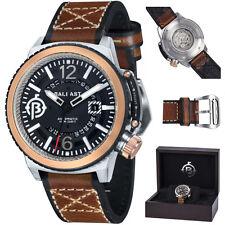 El lastre. bl-3133-01. Trafalgar. automático. reloj pulsera caballeros. cuero. nuevo